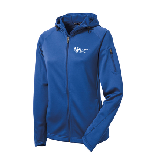 Ladies Tech Fleece Full-Zip Hooded Jacket